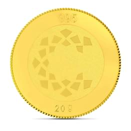 20gm, 24Kt Lakshmi Gold Coin